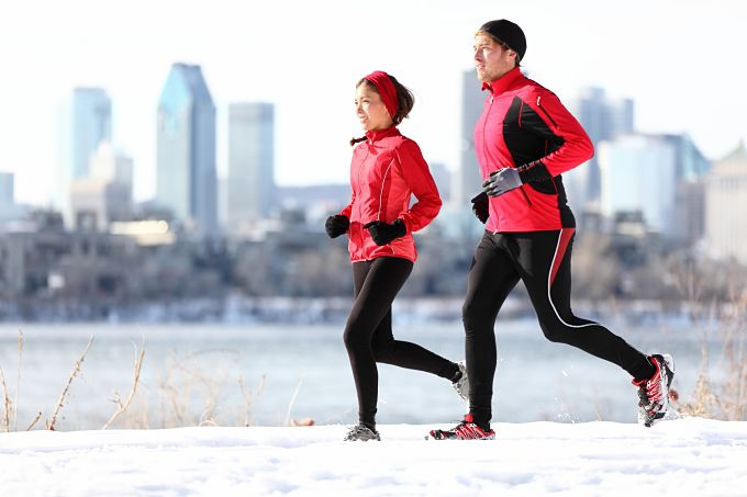 Run To Beat The Winter Blues