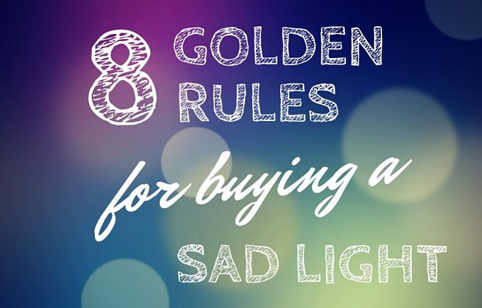 8 Golden Rules For Buying A Light Box for SAD