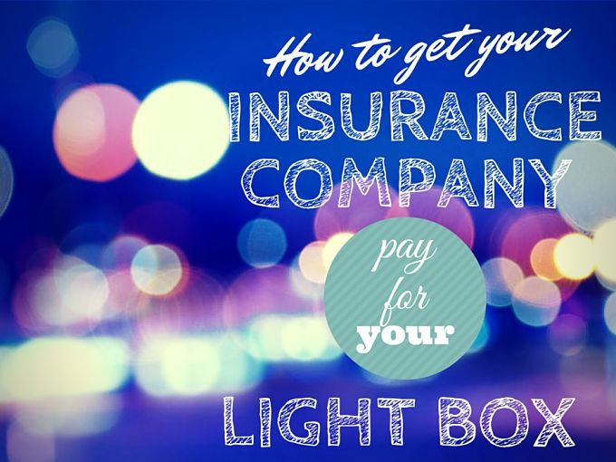 How To Get Your Insurance Company to Pay For Your Light Box