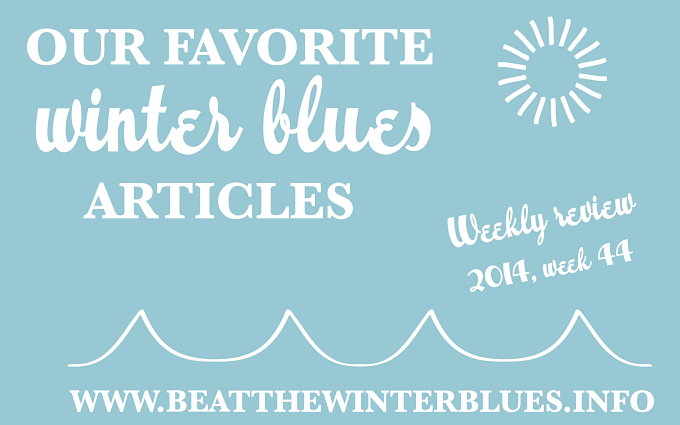 Weekly review – 2014 week 44
