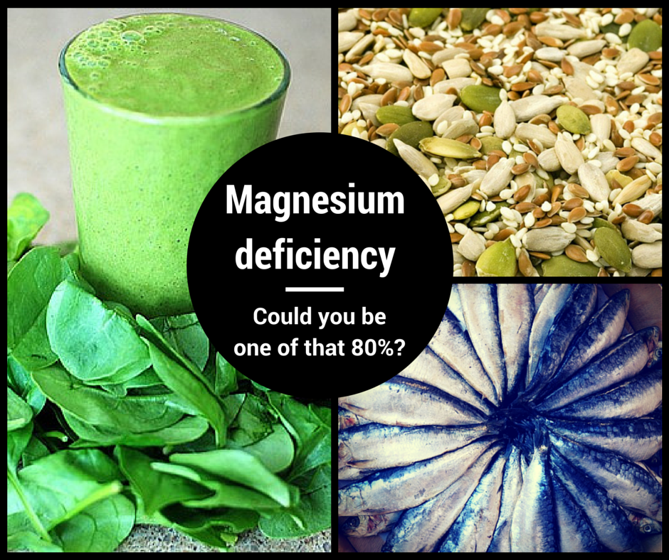 Magnesium Deficiency – Could You Be One Of That 80%?